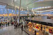 WROCLAW POLAND - FEBRUARY 25: Copernicus Airport
