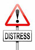 Distress Concept.
