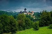 Medieval castle Sovinec.