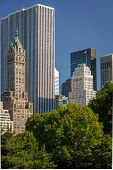 View Of Midtown, Manhattan, South East Central Park, New York City