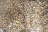 Brick Wall Architectural Background Texture (jerusalem, Israel)