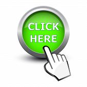Hand Cursor And Button Click Here