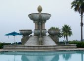 St. Regis fountain and pool