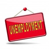 unemployment rate loose job loss joblessness jobloss caused by recession