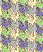 Seamless bird background/tessellation