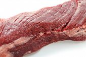 raw skirt steak, low calorie healthy meat