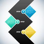 Modern design template / Infographic