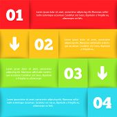 Infographic template for your design