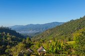 Beautiful Depth Of Mountain View At Chiang Dao, Thailand