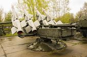 Russian Military Rocket Launcher Back View