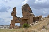 foto of goreme  - Rock similar to animal  - JPG