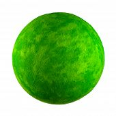 Small Green Toy Planet