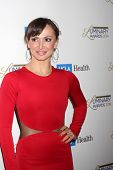 LOS ANGELES - JAN 22:  Karina Smirnoff at the UCLA Head and Neck Surgery Luminary Awards at Beverly