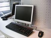 Computer W LCD-scherm