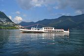Tour Boat Italia On Lake Lugano