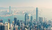 Day view of Hongkong, China