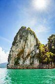 Beautiful Island Under The Sunlight