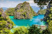 Blue Lagoon in Palawan Philippines