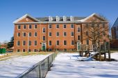 Academic Building On The Campus Of A Historically Black University In Winter
