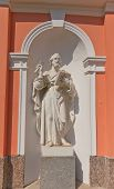 St Peter Statue Of Cross Exaltation Cathedral In St Petersburg