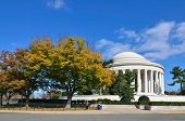 Washington D.C. - Jefferson Memorial in Autumn