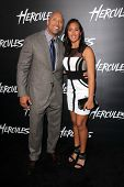 LOS ANGELES - JUL 23:  Dwayne Johnson, Simone Alexandra Johnson at the