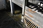 Netherlands - Valkenburg - Circa May 2014: Old Watermill.