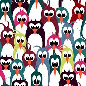 Bird Wallpaper Seamless Pattern