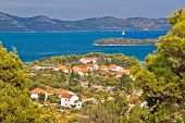 Croatian Islands Iz And Ugljan
