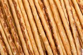 Long thin biscuit sticks background