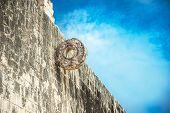 Stone Ring For Mayan Ballgame, Juego De Pelota