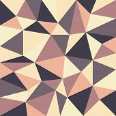 Triangular Retro Background