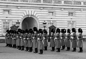 Horse Guards At Buckingham Palace
