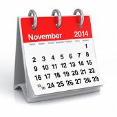picture of calendar 2014  - 2014 year desk calendar - JPG