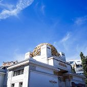 VIENNA, AUSTRIA-July 4 : Vienna Secession Building was formed in 1897 by a group of Austrian artists