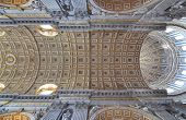Architectural detail of Saint Peters Basilica