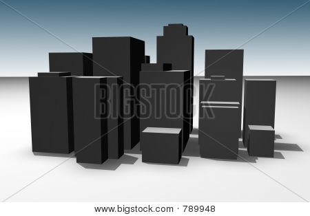 poster of 3d City