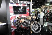 Bangkok - November 28: Triumph Rockers Motorcycle On Display At The Motor Expo 2014 On November 28,