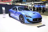 Bangkok - November 28: Maserati Car On Display At The Motor Expo 2014 On November 28, 2014 In Bangko