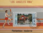 Olympic Games In Los Angeles 1984
