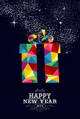 New Year 2015 Gift Greeting Card