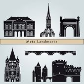 Metz Landmarks And Monuments