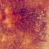 Abstract grunge background or old texture. With different color patterns: purple (violet); orange; brown; yellow