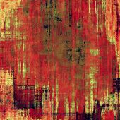 Abstract blank grunge background, old texture with stains and different color patterns: green; red; orange; brown; yellow