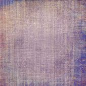 Abstract old background or faded grunge texture. With different color patterns: blue; purple (violet); brown