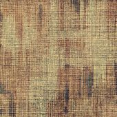 Vintage textured background. With different color patterns: yellow; gray; brown; beige