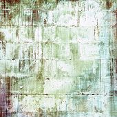 Vintage old texture with space for text or image, distressed grunge background. With different color patterns: gray; brown; green; white