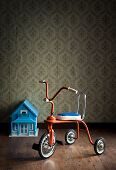 Vintage Colorful Tricycle