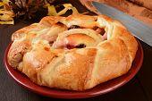 Cranberry Apple Galetta