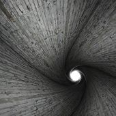Spiral Concrete Tunnel